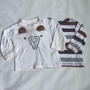 Little Me and Rorie Whelan long sleeve baby shirts